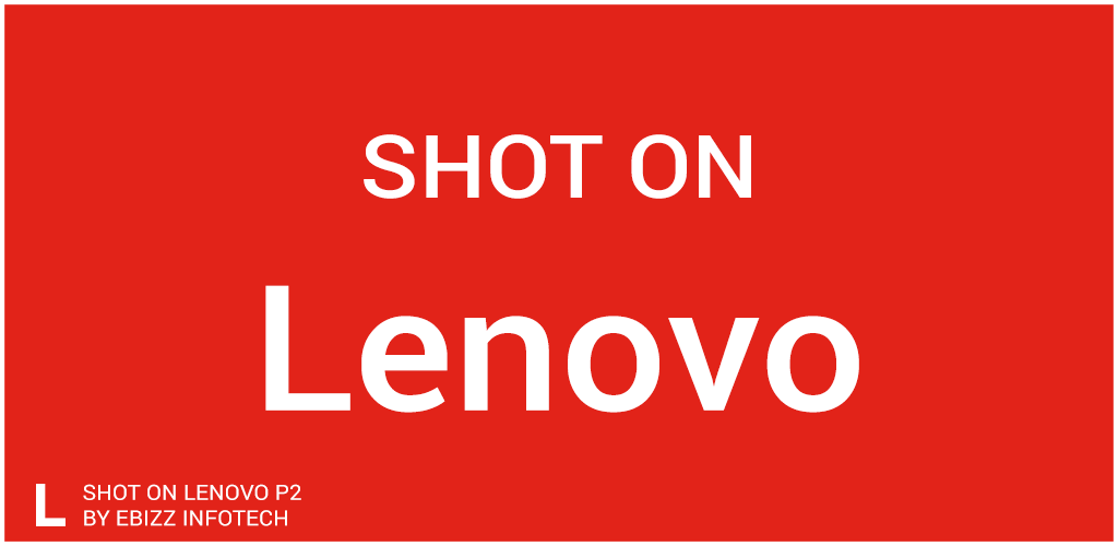 ShotOn for Lenovo: Auto Add Shot on Stamp on Photo Screenshot