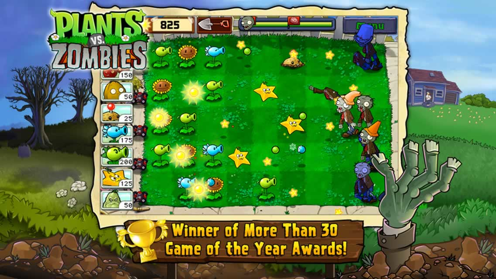 Plants vs. Zombies Free on PC Screenshot