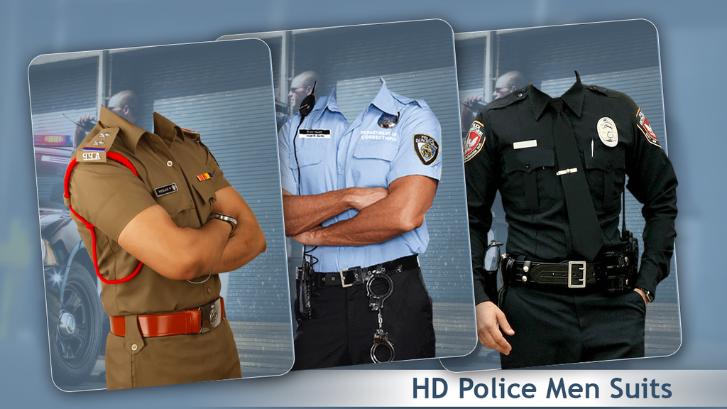 Man Police Suit Photo Editor:Police Uniform 2018 Screenshot