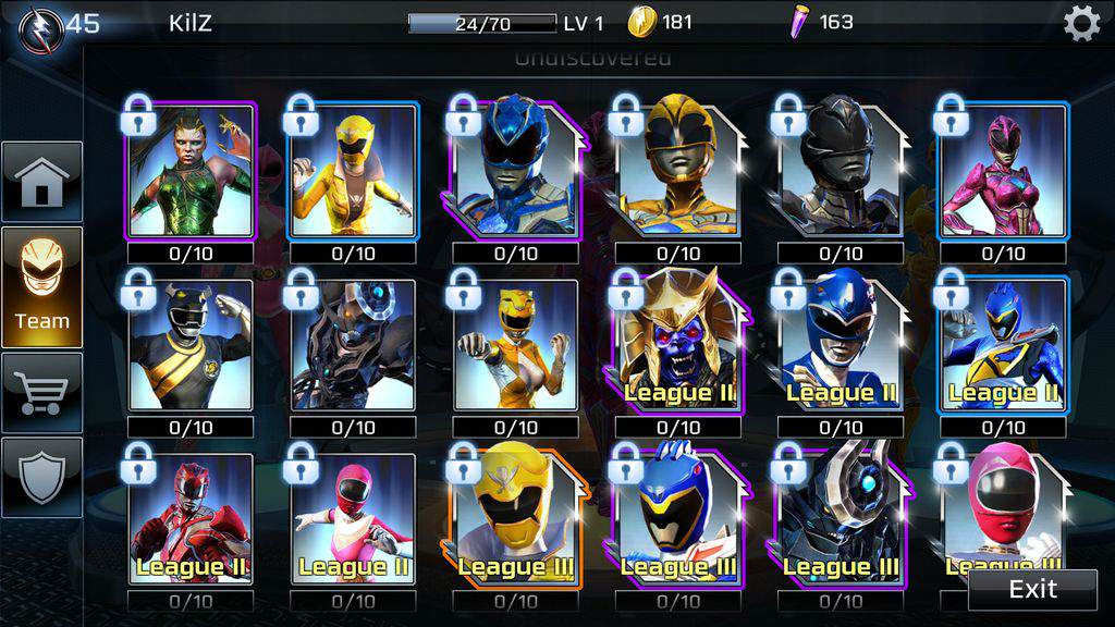 Power Rangers: Legacy Wars on PC Screenshot