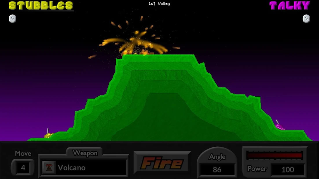 Pocket Tanks on PC Screenshot