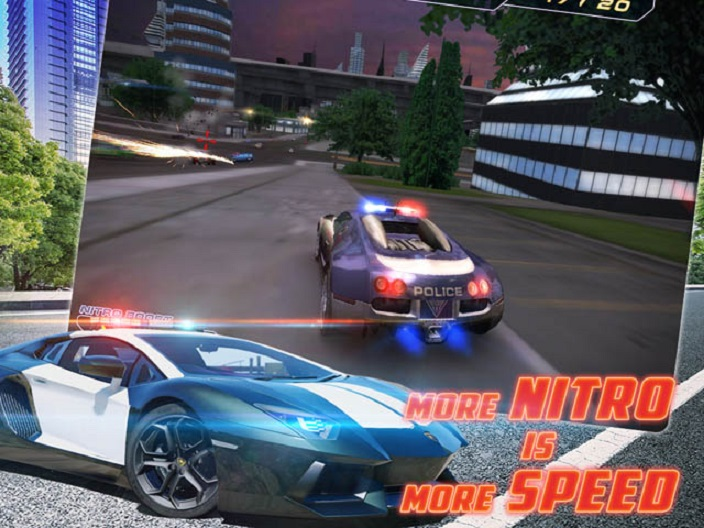Police Supercars Racing Recharged Screenshot