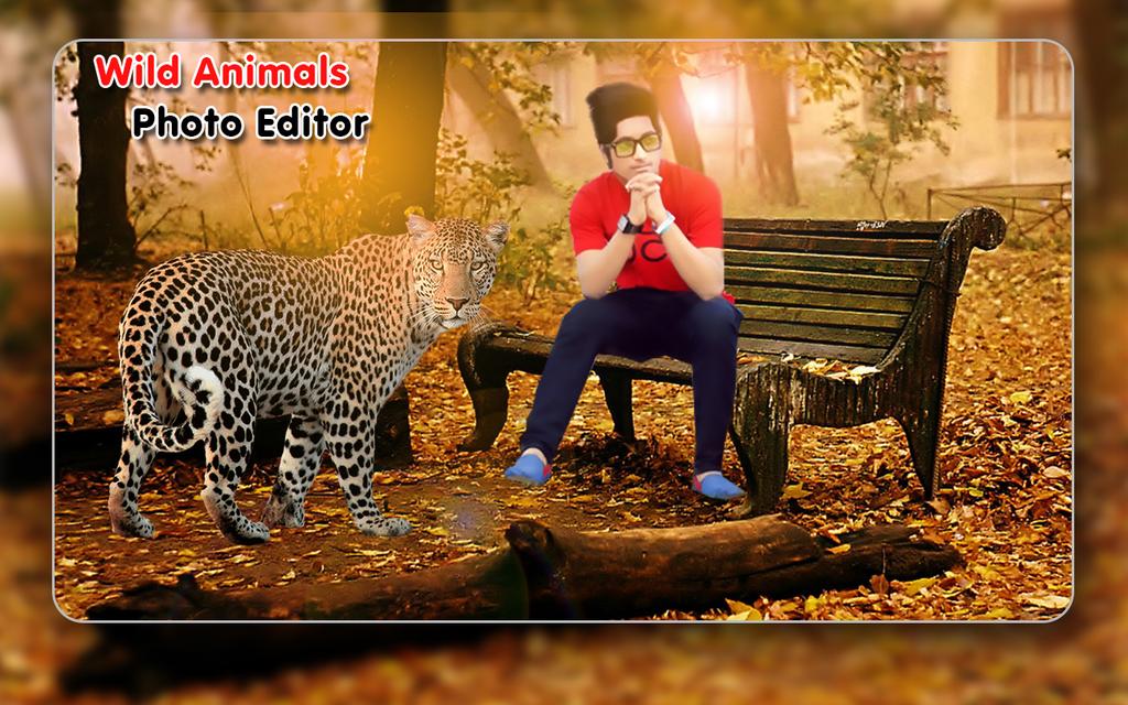 Download Wild Animalphotoeditoranimalphotoframes 1 0 For Android