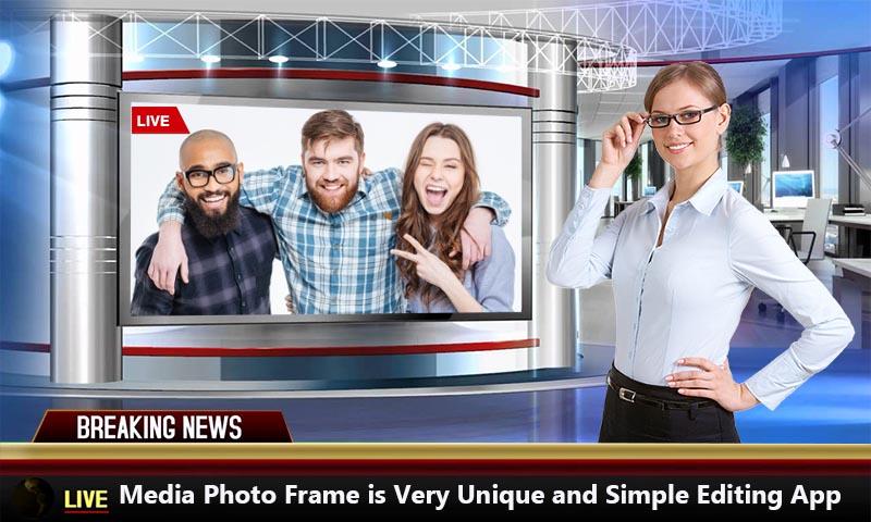 Media Photo Frame Media Photo Editor 2018 Screenshot