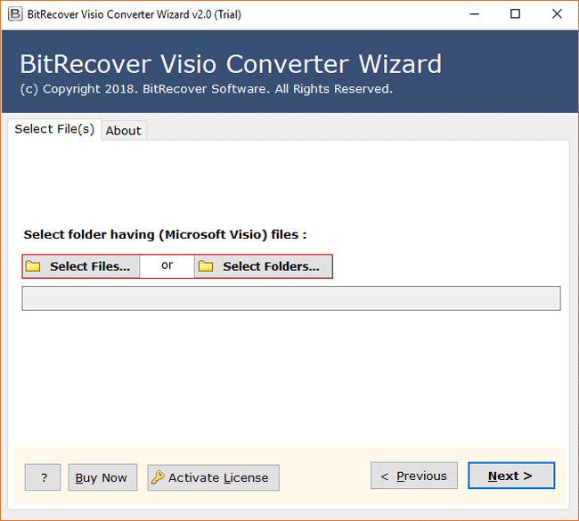 Visio Converter Wizard Screenshot
