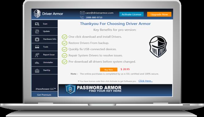 Driver Armor Screenshot