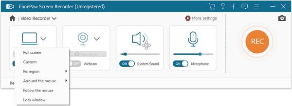 FonePaw Screen Recorder Screenshot 2