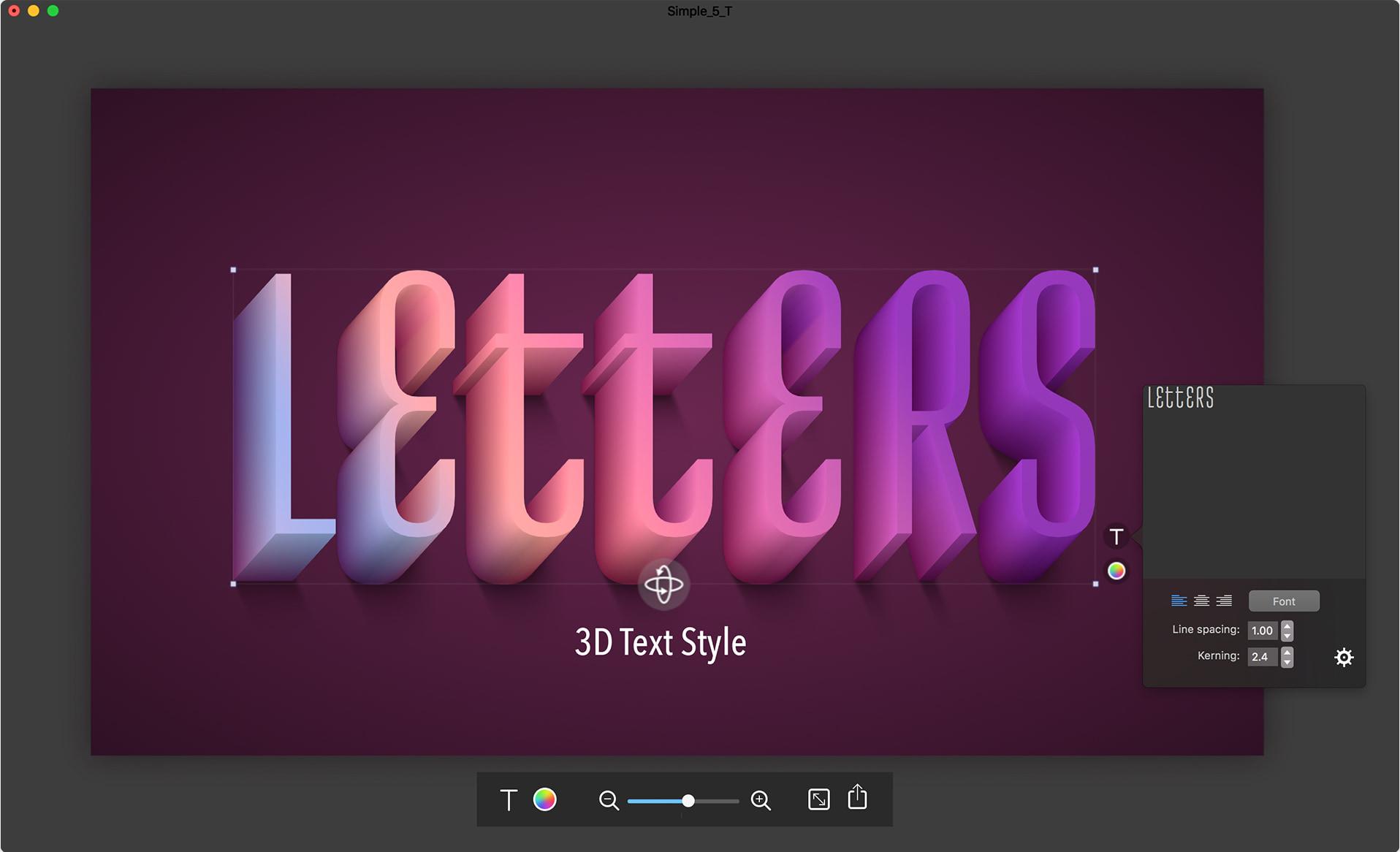 Letters Screenshot
