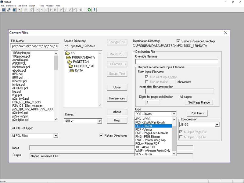 PCLTool SDK 32-bit Screenshot