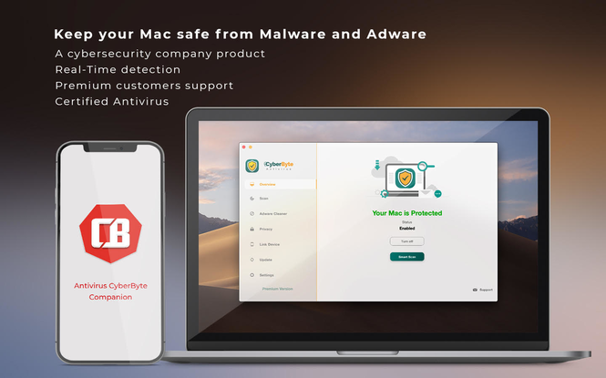 Antivirus CyberByte Screenshot