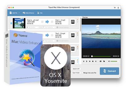 Download Tipard Mac Video Enhancer 9 1 18 for Mac Free