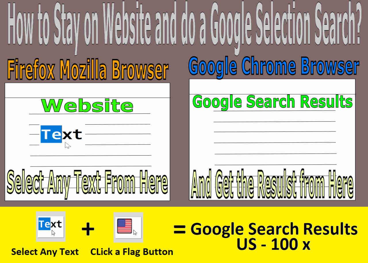 Selection Search Screenshot