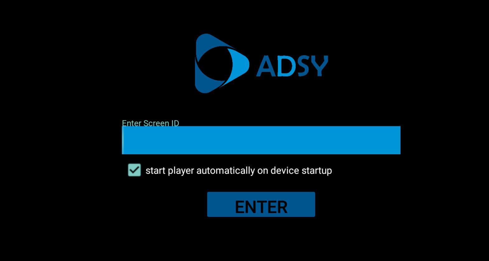 Adsy signage Screenshot
