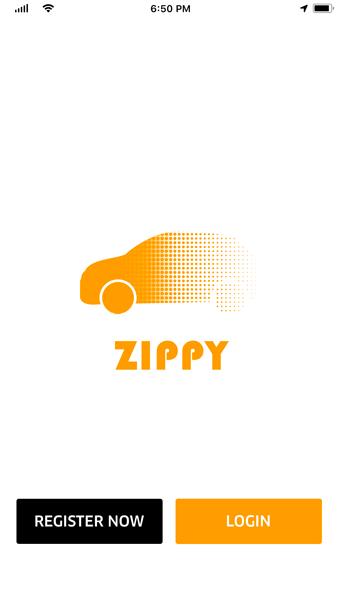 Zippy - Uber Clone App Screenshot