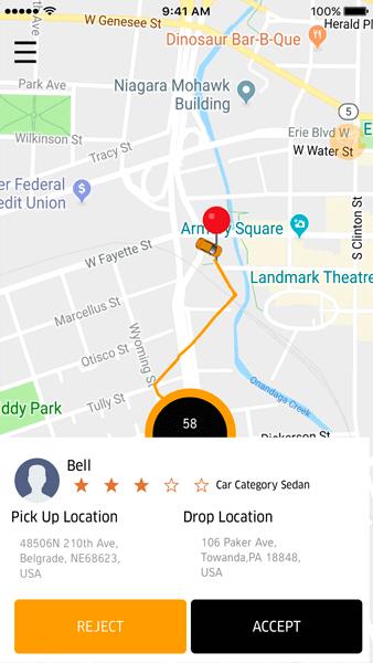 Zippy - Uber Clone App 4