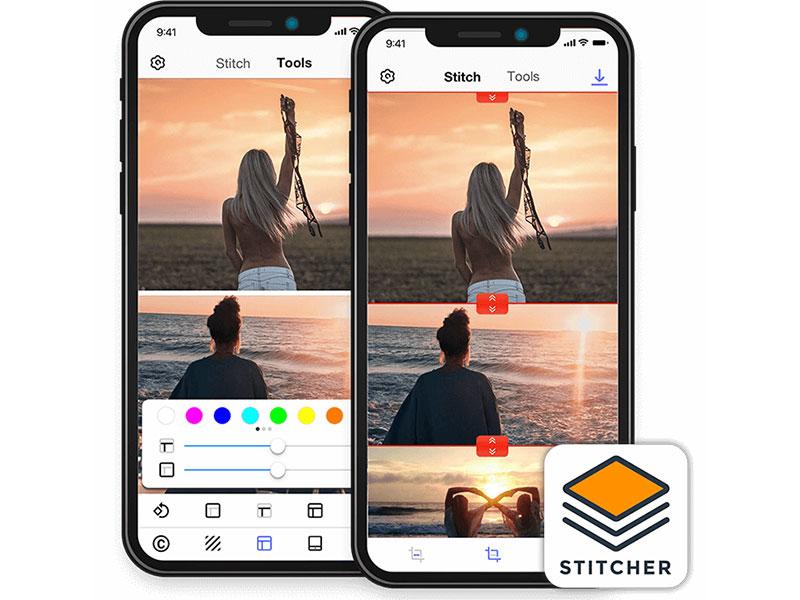 Photo Stitcher Screenshot