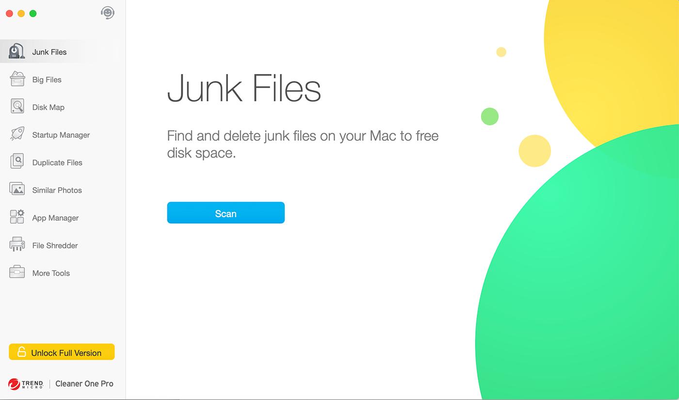 Cleaner One Pro Mac Screenshot