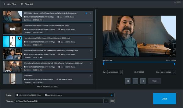 Jihosoft Video Editor Screenshot