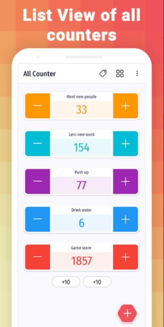 Counter: Digital counting machine Screenshot