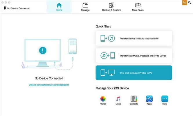 Tenorshare iCareFone for Mac Screenshot