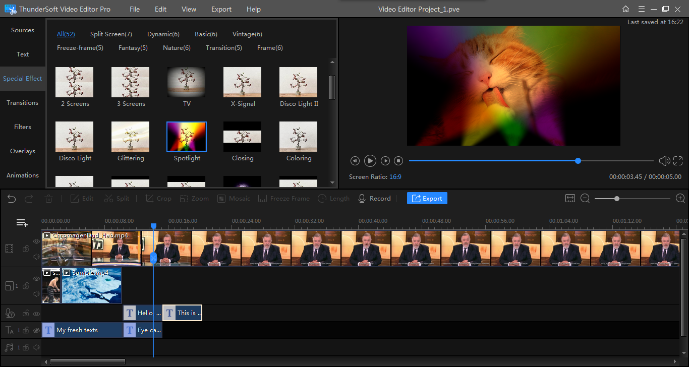 Download ThunderSoft Video Editor Pro 13.0