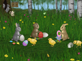 Easter Bunnies Screensaver 1
