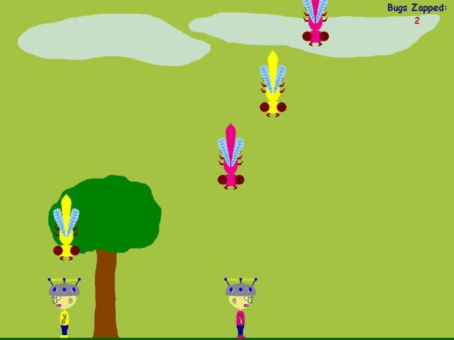 Bug Zappers Screenshot