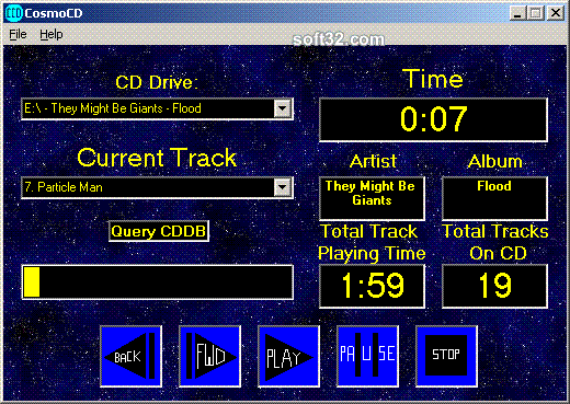CosmoCD Screenshot