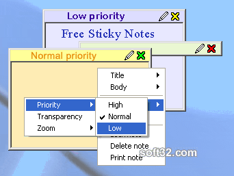 Free Sticky Notes Screenshot 2