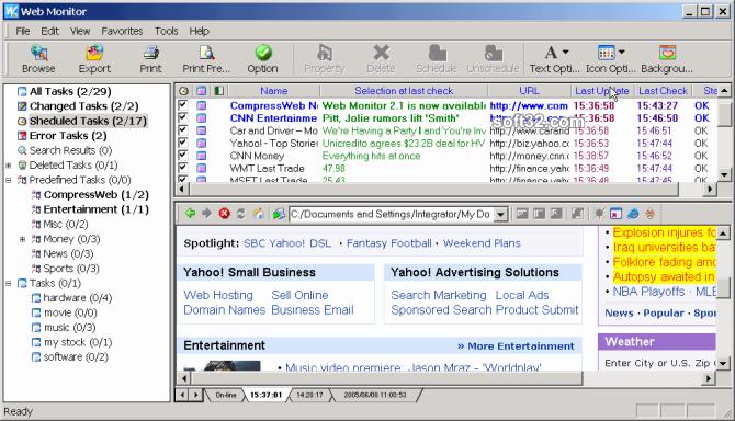 Web Monitor Screenshot 3