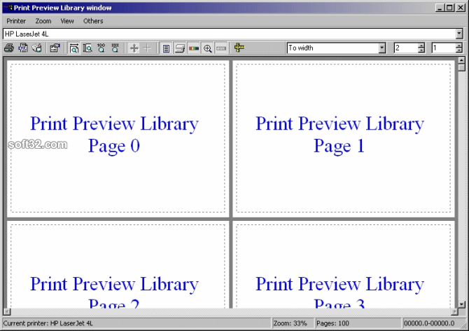 PVL - Print Preview Library source codes Screenshot 2