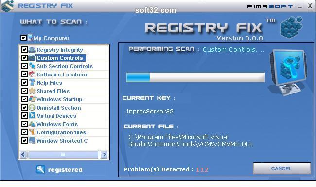 Registry Fix Screenshot 2
