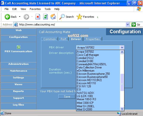 Call Accounting Mate Screenshot 2