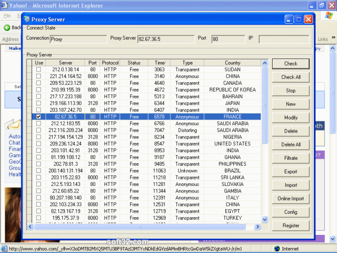 Super Proxy Helper Screenshot 1