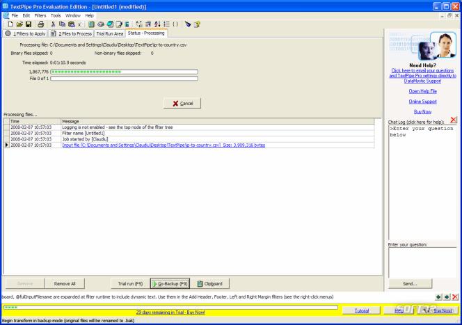TextPipe Pro Screenshot 5