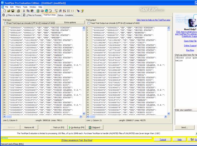 TextPipe Pro Screenshot 6