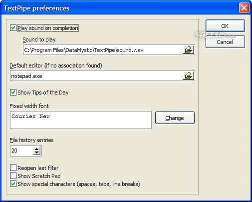 TextPipe Pro Screenshot 7