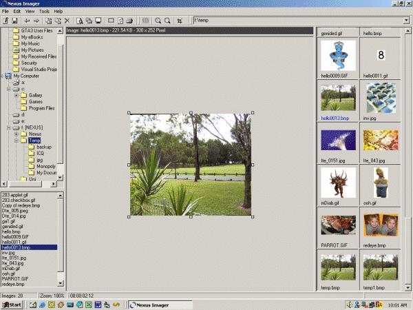 Nexus Imager Screenshot