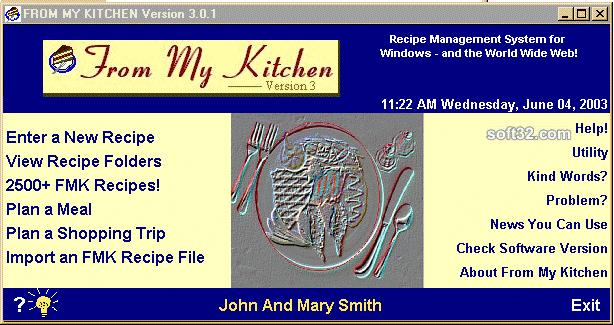 From My Kitchen Screenshot 1