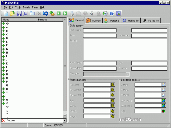 MailAndFax Screenshot 3