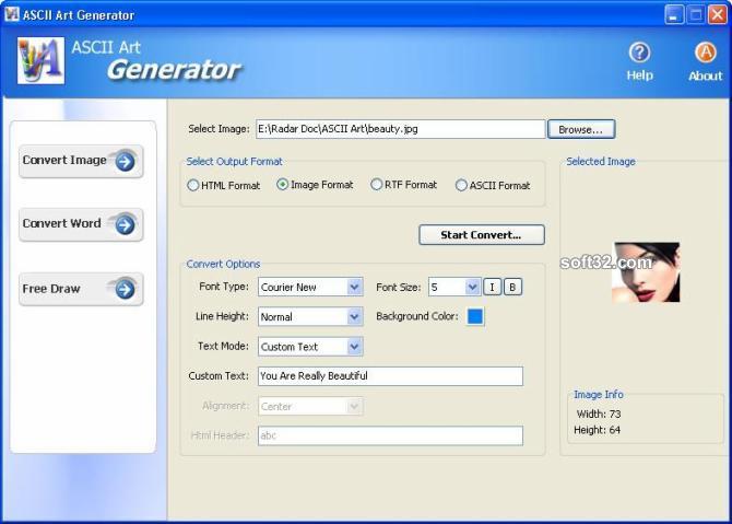ASCII Art Generator Screenshot 3