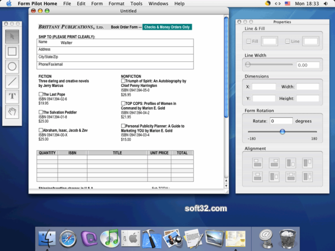 Form Pilot for Mac Screenshot