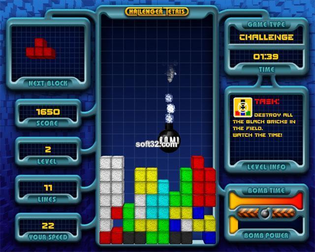 Challenger Tetris Screenshot 3