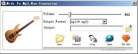 Midi To mp3 wav Convertor Screenshot 3
