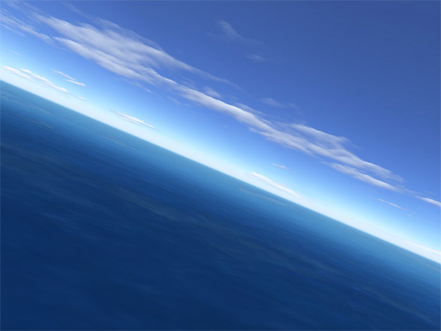 Flight over sea Screenshot