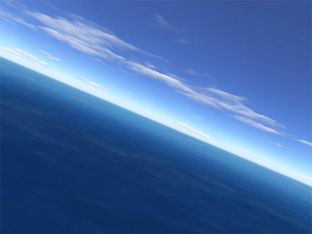 Flight over sea Screenshot 1