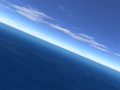 Flight over sea 1