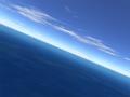 Flight over sea 1