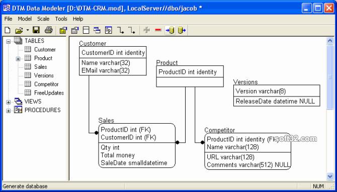 DTM Data Modeler Screenshot 2