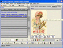 Postcard Organizer Deluxe Screenshot 2